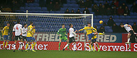 Bolton Wanderers' Jack Hobbs heads across goal<br /> <br /> Photographer Stephen White/CameraSport<br /> <br /> The EFL Sky Bet Championship - Bolton Wanderers v Leeds United - Saturday 15th December 2018 - University of Bolton Stadium - Bolton<br /> <br /> World Copyright &copy; 2018 CameraSport. All rights reserved. 43 Linden Ave. Countesthorpe. Leicester. England. LE8 5PG - Tel: +44 (0) 116 277 4147 - admin@camerasport.com - www.camerasport.com