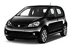2020 Seat Mii electric Plus 5 Door Hatchback angular front stock photos of front three quarter view