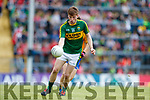 Brian Friel Kerry in action against  Clare in the Munster Minor Football Final at Fitzgerald Stadium on Sunday.