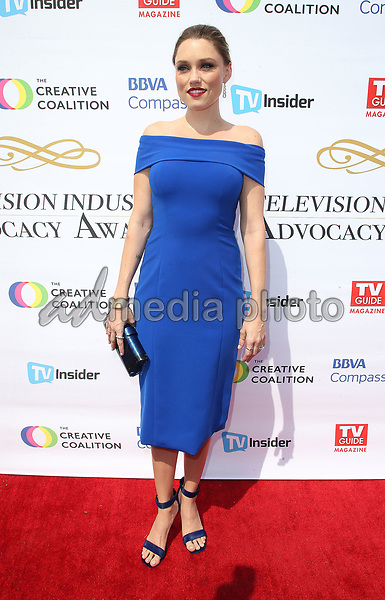 16 September 2017 - Hollywood, California - Clare Grant. Television Industry Advocacy Awards held at TAO Hollywood. Photo Credit: F. Sadou/AdMedia