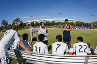 Carson, California - Thursday, July 17, 2014: The LA Galaxy U-15/16 defeated Chicago Magic PSG to advance to the 2013-14 Development Academy U-15/16 Championship at StubHub Center.