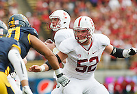 Berkeley- November 22, 2014: Graham Shuler during the Stanford vs Cal at Memorial Stadium in Berkeley Saturday afternoon<br /> <br /> The Cardinal defeated the Bears 38 - 17