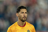 FOXBOROUGH, MA - AUGUST 31: Omar Gonzalez #44 of Toronto FC during a game between Toronto FC and New England Revolution at Gillette Stadium on August 31, 2019 in Foxborough, Massachusetts.