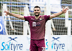 Queen of the South v St Johnstone&hellip;18.08.18&hellip;  Palmerston    BetFred Cup<br />Tony Watt celebrates his second goal<br />Picture by Graeme Hart. <br />Copyright Perthshire Picture Agency<br />Tel: 01738 623350  Mobile: 07990 594431