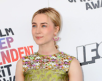 LOS ANGELES - MAR 3:  Saoirse Ronan at the 2018 Film Independent Spirit Awards at the Beach on March 3, 2018 in Santa Monica, CA