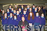 Pupils from St Olivers NS who was confirmed in the Church of the Resurrection, Killarney on Friday front row l-r: Leah, Amy O'Shea, Sinead Tangney, Bishop Bill Murphy, Mairead Cronin, Dania Qasim, Sarah Slattery. Second row: Alexandra Korycka, Zoe O'Dwyer-Kelly, Kerry Marsh, Conor Randle, John Kerrisk, Tony Brosnan, Michael Casey, Emma O'Leary, Allanah Lyne, John Goggin, Eileen Hughes. Back row: Annie Potts, Evelina Duderaitie, Agne Kaniskaite, Gavin Lyne and Andy Lyne