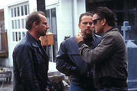 Mystic River (2003)<br /> Sean Penn, Kevin Chapman &amp; Robert Wahlberg<br /> *Filmstill - Editorial Use Only*<br /> CAP/KFS<br /> Image supplied by Capital Pictures