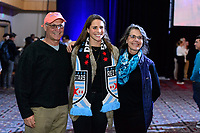 Philadelphia, PA - Thursday January 18, 2018: Emily Boyd during the 2018 NWSL College Draft at the Pennsylvania Convention Center.
