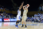 29 January 2017: Wake Forest's Elisa Penna (ITA) (41) and Duke's Kyra Lambert (15). The Duke University Blue Devils hosted the Old Dominion University Monarchs at Cameron Indoor Stadium in Durham, North Carolina in a 2016-17 Division I Women's Basketball game. Duke won the game 71-43.