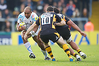 Aleki Lutui of Worcester Warriors in action during the Aviva Premiership match between London Wasps and Worcester Warriors at Adams Park on Sunday 7th October 2012 (Photo by Rob Munro)
