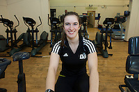 Derbyshire winter Olympian Ellie Koyander has been given a boost to help her in her quest to qualify for a second Olympic Games, thanks to a £500 donation from sports club Brampton Manor