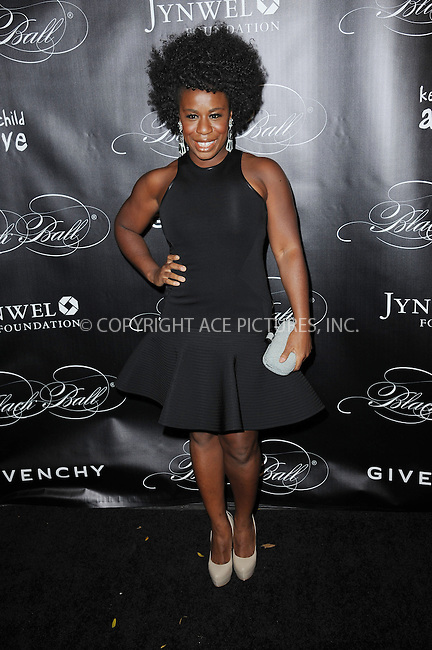 WWW.ACEPIXS.COM <br /> November 7, 2013 New York City<br /> <br /> Uzo Aduba attending Keep A Child Alive's 10th Annual Black Ball at Hammerstein Ballroom on November 7, 2013 in New York City.<br /> <br /> Please byline: Kristin Callahan  <br /> <br /> ACEPIXS.COM<br /> Ace Pictures, Inc<br /> tel: (212) 243 8787 or (646) 769 0430<br /> e-mail: info@acepixs.com<br /> web: http://www.acepixs.com