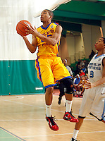 April 10, 2011 - Hampton, VA. USA;  Juwan Parker participates in the 2011 Elite Youth Basketball League at the Boo Williams Sports Complex. Photo/Andrew Shurtleff