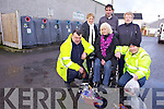 BOTTLEBANK PROBLEM: Members of Listowel Tiday Townsa re calling on the public to use the bottlebanks correctly. Pictured were: Julie Gleeson, Cllr. Jimmy Moloney (Chairperson of Tidy Towns), Breda McGrath, John Riordan, Cllr. Jackie Barrett-Madigan and Kevin Loughnane..