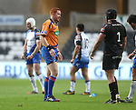 Referee Andrew McMenemy.<br /> RoboPro 12<br /> Ospreys v Connacht<br /> 10.05.14<br /> ©Steve Pope-SPORTINGWALES