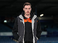 Blackpool's Ben Heneghan relaxing before the match <br /> <br /> Photographer Andrew Kearns/CameraSport<br /> <br /> The EFL Sky Bet League One - Portsmouth v Blackpool - Saturday 12th January 2019 - Fratton Park - Portsmouth<br /> <br /> World Copyright &copy; 2019 CameraSport. All rights reserved. 43 Linden Ave. Countesthorpe. Leicester. England. LE8 5PG - Tel: +44 (0) 116 277 4147 - admin@camerasport.com - www.camerasport.com
