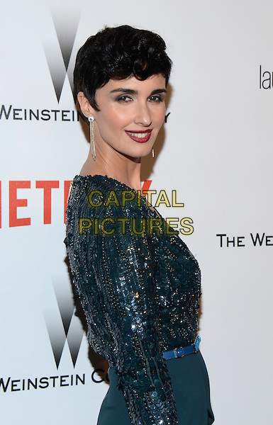 11 January 2015 - Beverly Hills, California - Paz Vega. The Weinstein Company and Netflix 2015 Golden Globes After Party celebrating the 72nd Annual Golden Globe Awards held at Robinsons May Lot.  <br /> CAP/ADM/TW<br /> &copy;TW/ADM/Capital Pictures