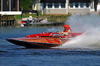 "Ron Snyder, E-4 ""Sir Ron III, (Albee built from Ron Jones plans, 280 class hydroplane)"