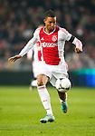 Nederland, Amsterdam, 8 december 2012.Eredivisie.Seizoen 2012-2013.Ajax-FC Groningen (2-0).Danny Hoesen van Ajax in actie met bal