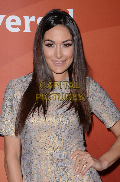 14 January  - Pasadena, Ca - Brie Bella. NBC Universal Press Tour Day 2 held at The Langham Huntington Hotel.  <br /> CAP/ADM/BT<br /> &copy;BT/ADM/Capital Pictures