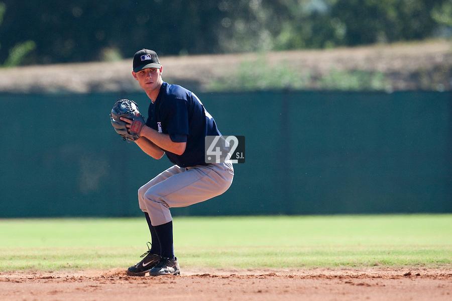 Baseball - MLB Academy - Tirrenia (Italy) - 19/08/2009 - Ashwin Rokx (Netherlands)