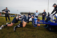 07/02/11 Scotland Rugby Team Train