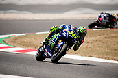 June 11th 2017, Barcelona Circuit, Montmelo, Catalunya, Spain; MotoGP Grand Prix of Catalunya, Race Day; Valentino Rossi of the Movistar Yamaha Motogp Team