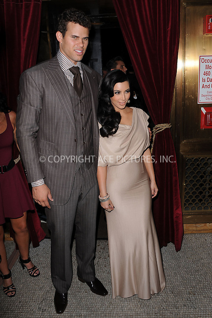 WWW.ACEPIXS.COM . . . . . .August 31, 2011...New York City...Kris Humphries and Kim Kardashian attend the Colin Cowie and Jason Binn welcome to NYC  party for Kim Kardashian and Kris Humphries  at Capitale on August 31, 2011 in New York City....Please byline: KRISTIN CALLAHAN - ACEPIXS.COM.. . . . . . ..Ace Pictures, Inc: ..tel: (212) 243 8787 or (646) 769 0430..e-mail: info@acepixs.com..web: http://www.acepixs.com .
