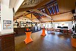 BLOEMENDAAL - Interieur clubhuis van hockeyclub Bloemendaal. COPYRIGHT  KOEN SUYK