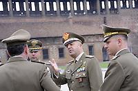 - Italian Army,  senior officers during a military ceremony....- Esercito Italiano, alti ufficiali durante una cerimonia militare....