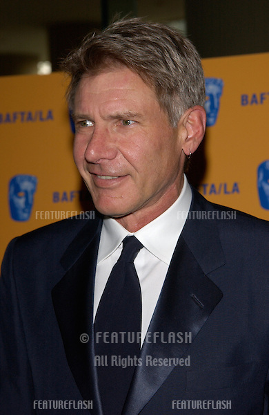Actor HARRISON FORD at the 11th Annual BAFTA/LA Britannia Awards at the Beverly Hills Hilton..12APR2002.  © Paul Smith / Featureflash
