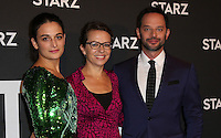 WEST HOLLYWOOD, CA - SEPTEMBER 19:  Nick Kroll, Jenny Slate, Sophie Goodhart attends the screening of Starz Digital Media's 'My Blind Brother' at The London Hotel on September 19, 2016 in West Hollywood, California. (Photo Credit: Parisa Afsahi/MediaPunch).