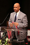 Ruben Santiago-Hudson on stage at the The Lilly Awards  at Playwrights Horizons on May 22, 2017 in New York City.