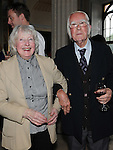 Francis Ledwidge's nephew Joe and his wife Phyllis at the Ledwidge evening at Slane castle. Photo: Colin Bell/pressphotos.ie