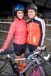 Anne Marie Murphy and Ciara Kennedy at the Stephenie O'Sullivan Memorial Cycle at Milton on Sunday.