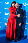 Malena Alterio and Javier Gutierrez attends to blue carpet of presentation of new schedule of Movistar+ at Queen Sofia Museum in Madrid, Spain. September 12, 2018.  (ALTERPHOTOS/Borja B.Hojas)