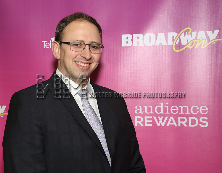 Wally Sedgewick attends the BroadwayHD panel discussion at Broadwaycom 2018 on January 26, 2018 at Jacob Javitz Center in New York City.