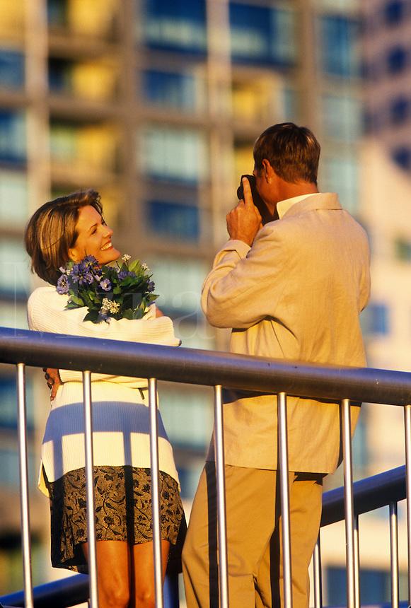 Romantic couple.