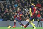 14.12.2013. Barcelona, Spain. La Liga, day 16. Picture show Montoya  in action during match between FC Narcelona against Villareal at Camp Nou