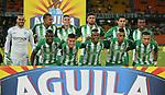 Atlético Nacional venció 3-1 (4-1 en el global) a Leones. Semifinales Copa Colombia 2018.