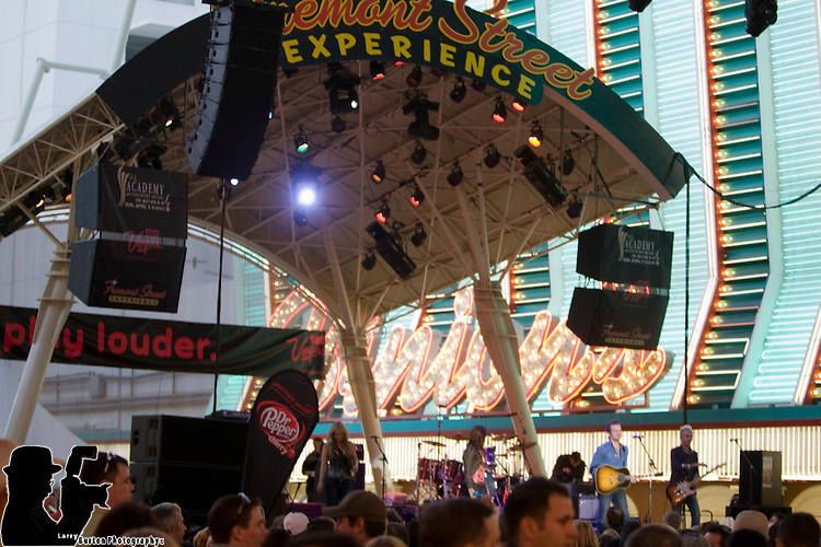 Academy of Country Music all-star concert at the Fremont Street Experience on April 3, 2009 in Las Vegas, Nevada. day 2 with Jason Aldean, Kelly Pickler, Zack Brown Band, Gloriana, and Leann Rimes,