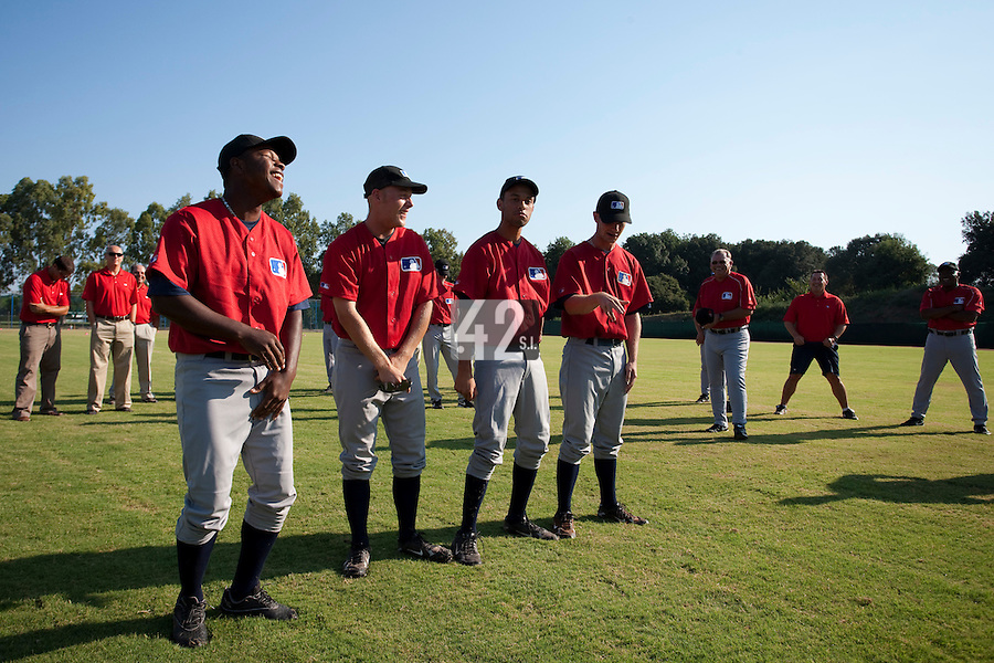 Baseball - MLB European Academy - Tirrenia (Italy) - 21/08/2009 - Players