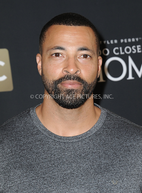 www.acepixs.com<br /> <br /> August 16 2016, New York City<br /> <br /> Timon Kyle Durrett arriving at a screening of 'Too Close To Home' at The Paley Center for Media on August 16, 2016 in Beverly Hills, California.<br /> <br /> By Line: Peter West/ACE Pictures<br /> <br /> <br /> ACE Pictures Inc<br /> Tel: 6467670430<br /> Email: info@acepixs.com<br /> www.acepixs.com