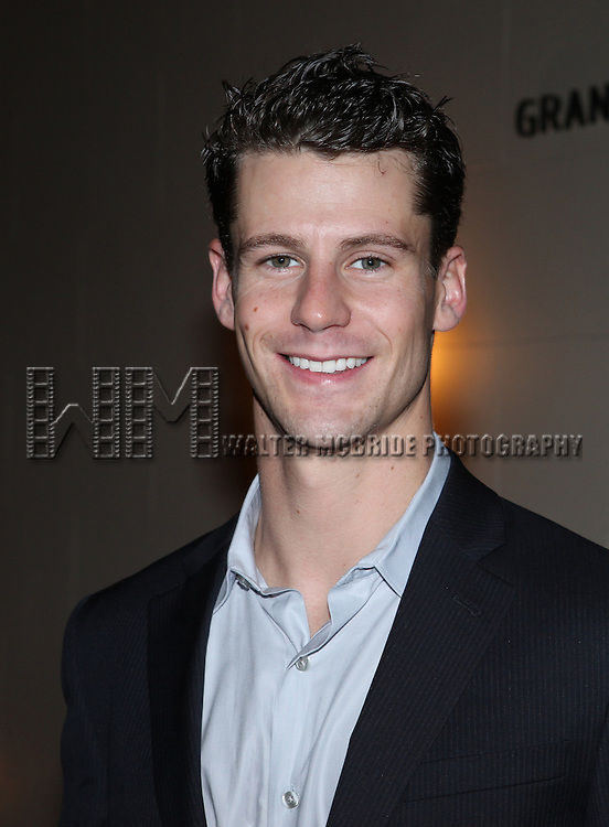 Luke Hawkins.attending the reception for the final performance of the New York City Center ENCORES! Production of 'Gentlemen Prefers Blondes' at City Center in New York City on 5/13/2012.