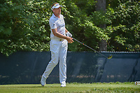 Ian Poulter (GBR) watches his tee shot on 9 during 3rd round of the 100th PGA Championship at Bellerive Country Club, St. Louis, Missouri. 8/11/2018.<br /> Picture: Golffile | Ken Murray<br /> <br /> All photo usage must carry mandatory copyright credit (&copy; Golffile | Ken Murray)