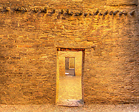 Chaco Room & Door - New Mexico - Canyon Canyon National Historic Park