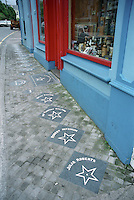 Walk of Fame, Dick Mack's, Dingle, Ireland