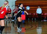 NEW LONDON, Conn. - The Mitchell College women's volleyball team lost its first NECC match of the season by a 3-1 final to Daniel Webster College on Tuesday night at the Yarnall Athletic Center.