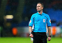 Referee David Webb<br /> <br /> Photographer Alex Dodd/CameraSport<br /> <br /> The EFL Sky Bet Championship - Bolton Wanderers v West Bromwich Albion - Monday 21st January 2019 - University of Bolton Stadium - Bolton<br /> <br /> World Copyright © 2019 CameraSport. All rights reserved. 43 Linden Ave. Countesthorpe. Leicester. England. LE8 5PG - Tel: +44 (0) 116 277 4147 - admin@camerasport.com - www.camerasport.com