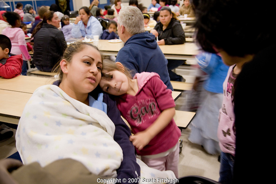 Just south of Seattle, Mount View Elementary School serves a large community of recent immigrants.  The school reaches out to the families with an evening program about their preschool program, Thrive by Five.